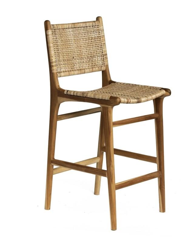 Teak Bar Chair 1