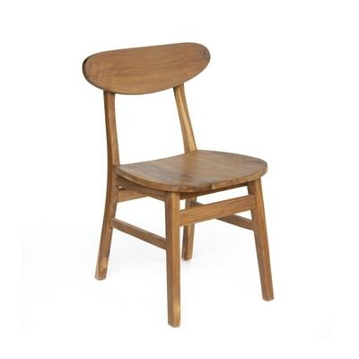 Teak Bistro Dining Chair 1