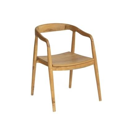 Teak Bistro Dining Chair 4