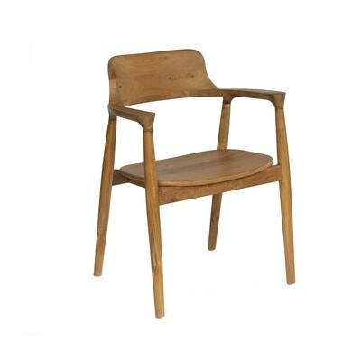 Teak Bistro Dining Chair 2