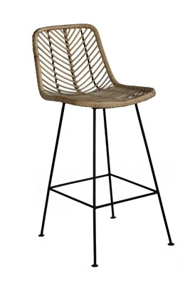 Rattan Bar Chair 1