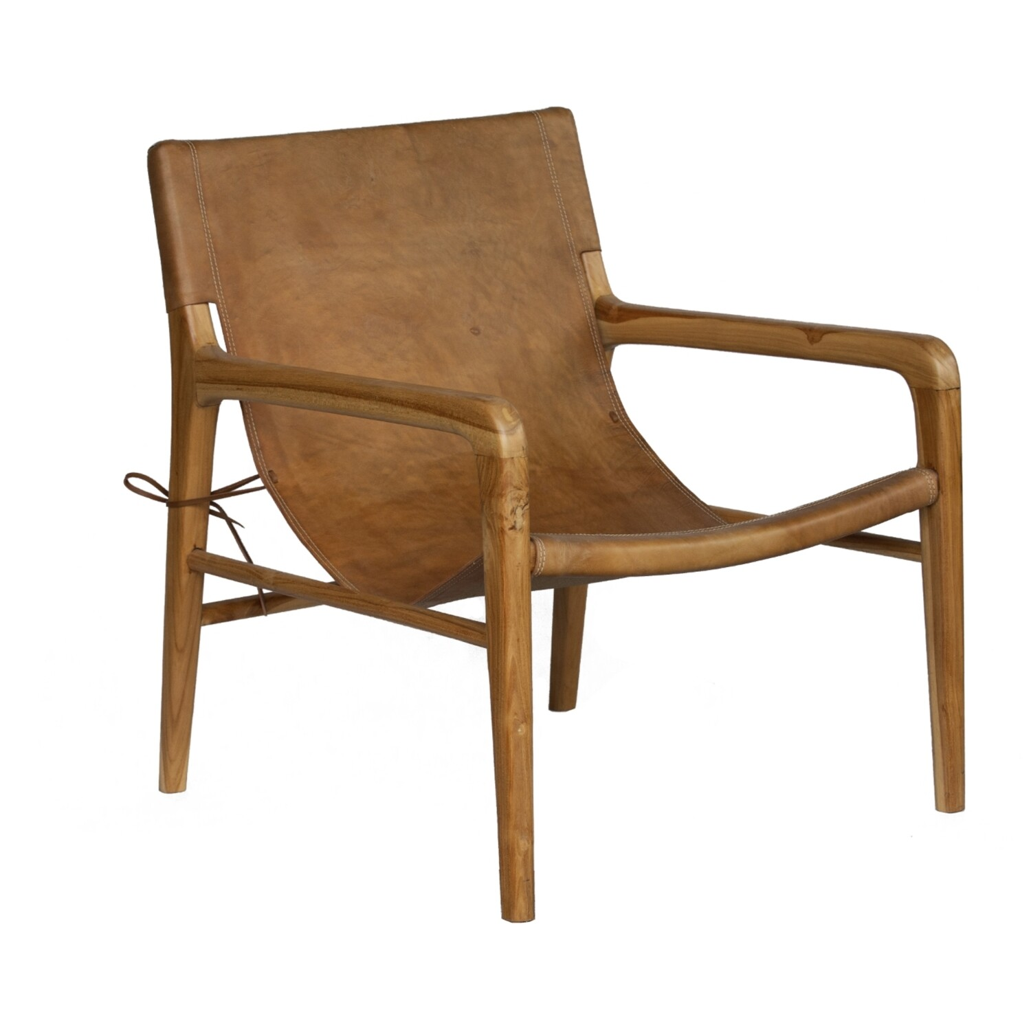 Leather Occasional Chair 1 (Tan)