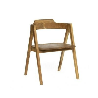 Teak Bistro Dining Chair 3