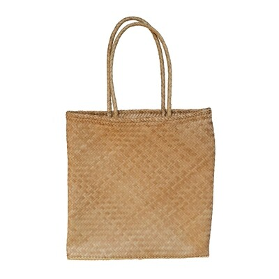 Water-Hyacinth Laptop Tote