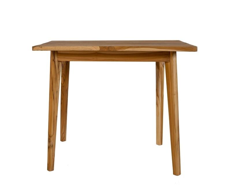 Teak Café Table 1