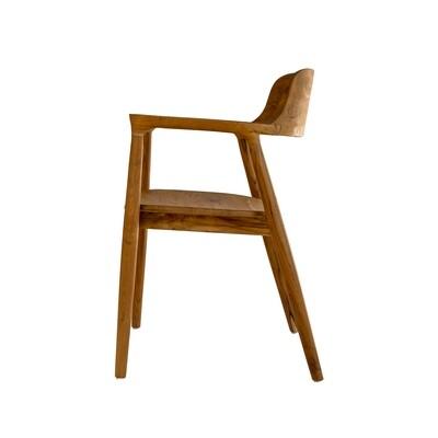 Teak Bistro Dining Chair 5