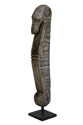 130cm Antique Hand-carved Statue