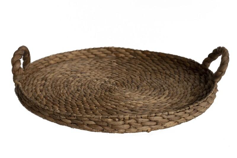 Water Hyacinth Tray (61cm)