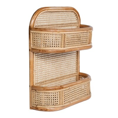 Rattan Storage Shelf