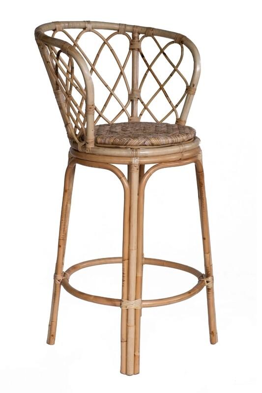 Rattan Bar Chair 3