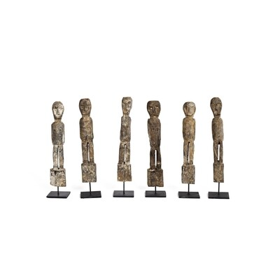 Handcarved Statue Collection (set of 3)