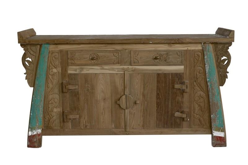 Teak Cupboard 6 (150cm)