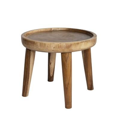 Suar Wood Side Table 1 (60cm)
