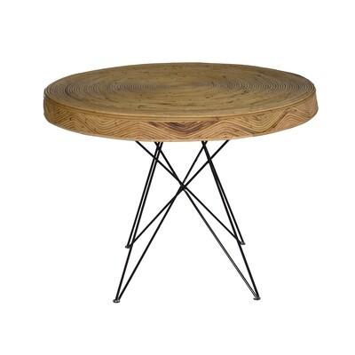 Rattan Café Table 1