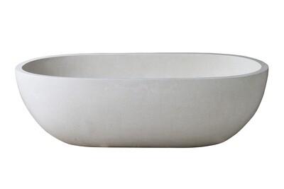 Terrazzo Bath White (170cm)