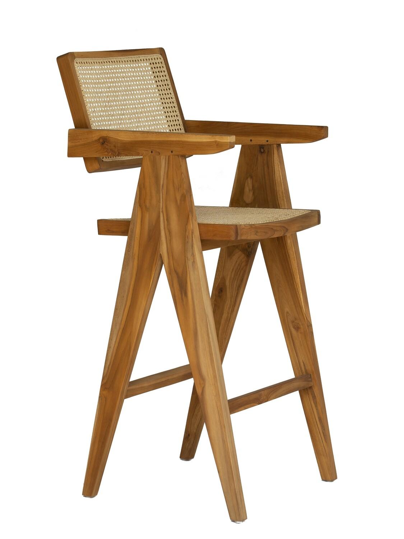 Teak Bar Chair 3