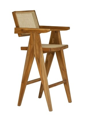 Teak Bar Chair 3
