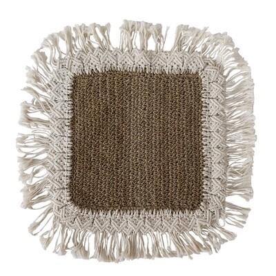 Water Hyacinth Cushion 3 (50cm)