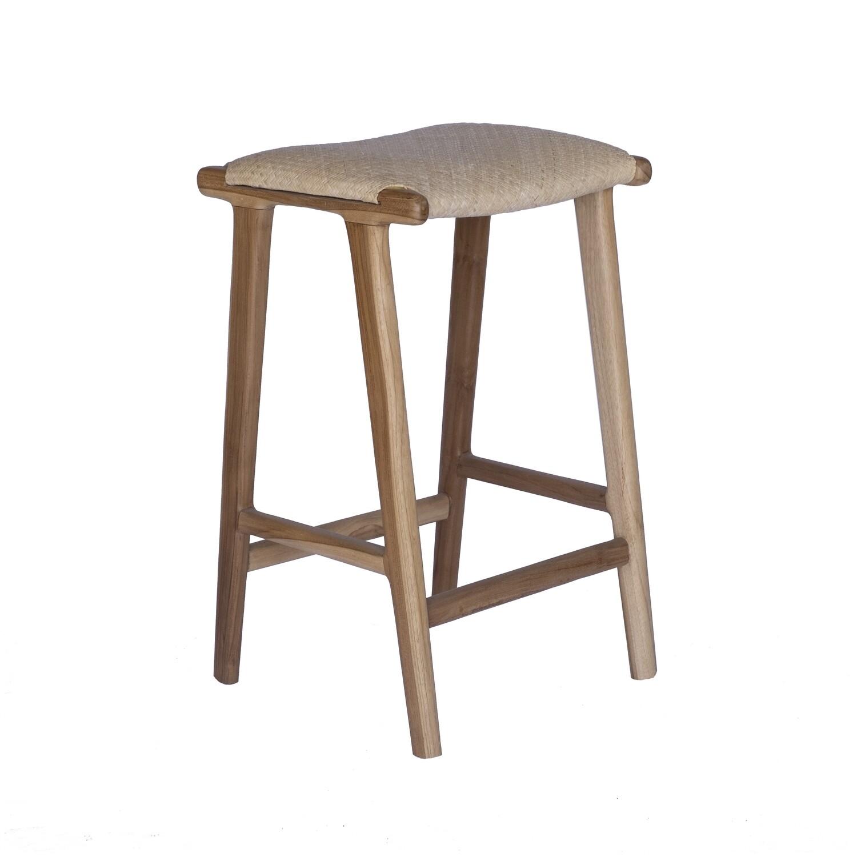 Teak Bar Chair 6