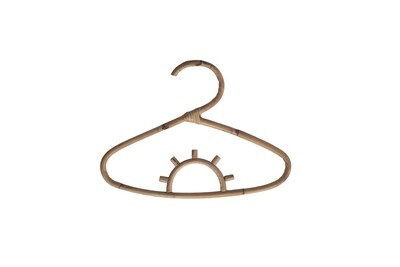 Rattan Clothing Hanger 3 Small (set of 4)