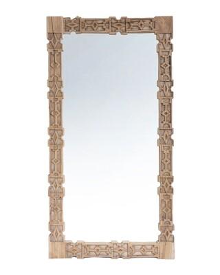Teak Mirror 4
