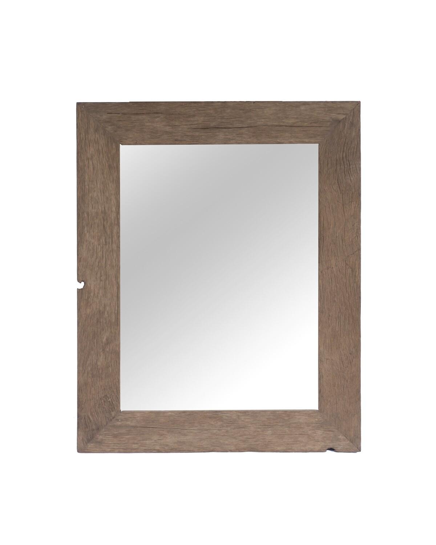 Teak Mirror 2