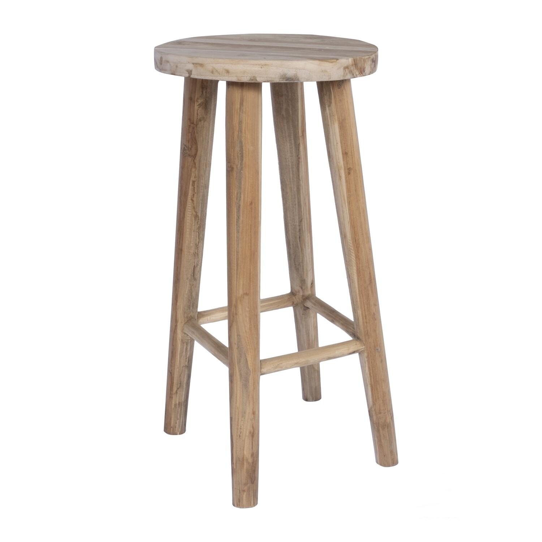 Teak Bar Chair 5 (Antique wood)