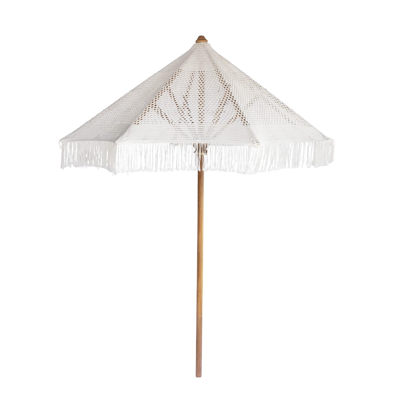 260cm Macrame Umbrella