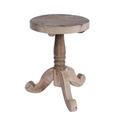 Stool/Side Table 5 (reclaimed wood)
