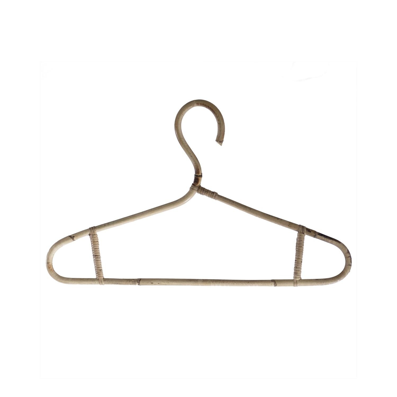 Rattan Clothing Hanger 2 Large (set of 5)
