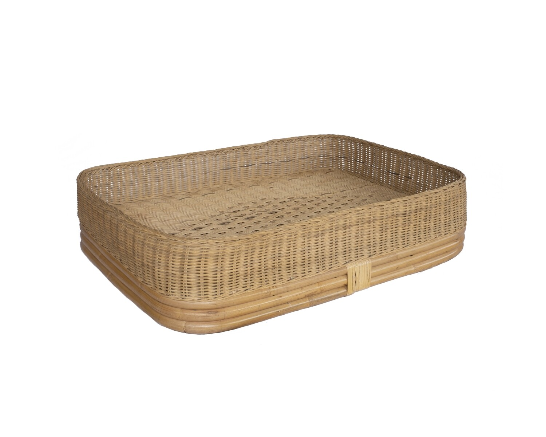 Floating Rattan Tray (medium)