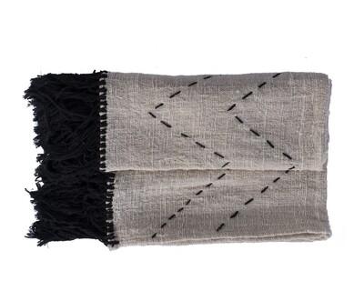 Cotton Throw Tribal