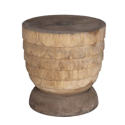 Hand-carved Side Table 8