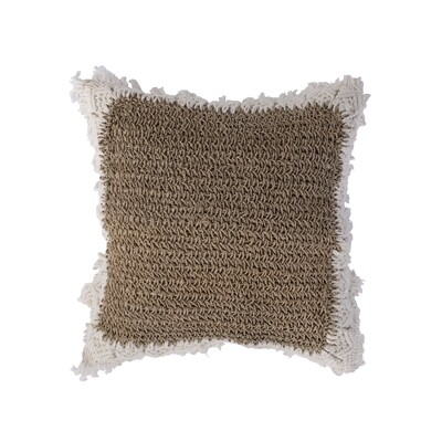 Water Hyacinth Cushion 8 (50cm)