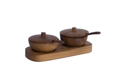 Salt/Pepper Bowls (includes board)