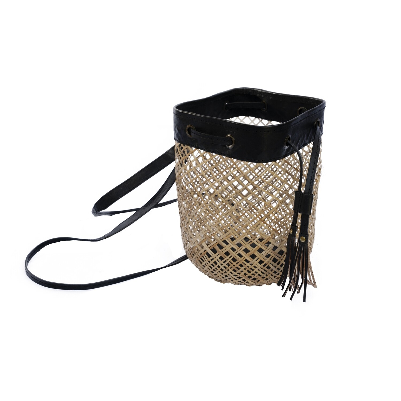Water Hyacinth Bag 6 (black)