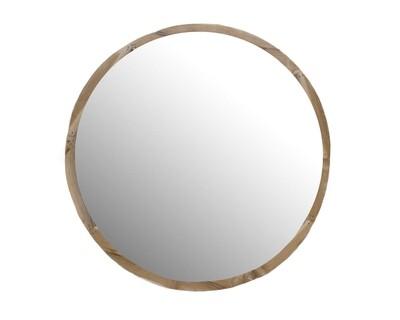Teak Mirror 6 (80cm)