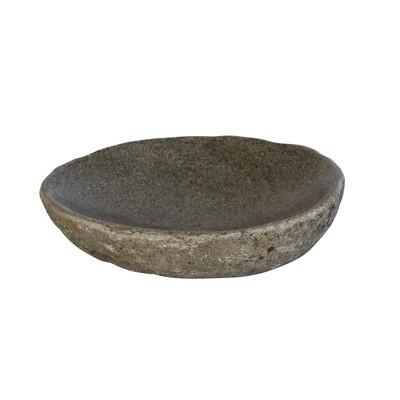 Lava Stone Dish (20cm)