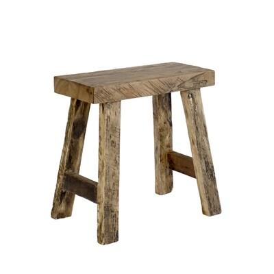 Stool 19 (reclaimed wood)