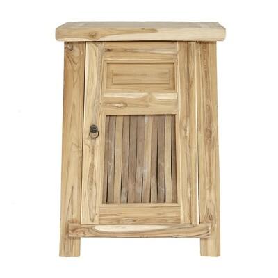Suar Wood Bedside Table