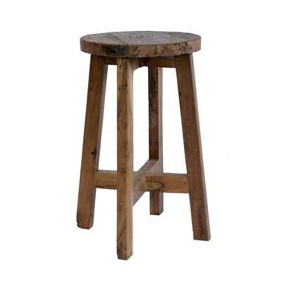 Stool 23 (reclaimed wood)