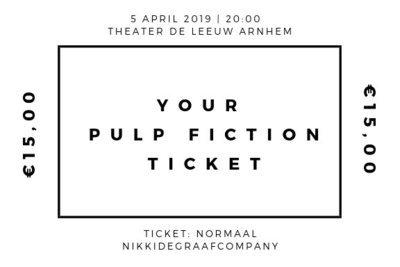 Ticket - Pulp Fiction