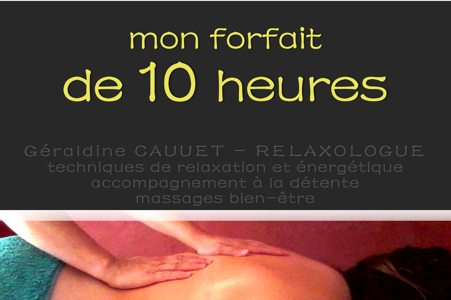 Forfait 10 heures