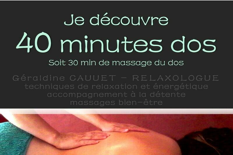 Séance 40 minutes découverte et dos