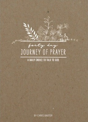 40 Day Journey of Prayer