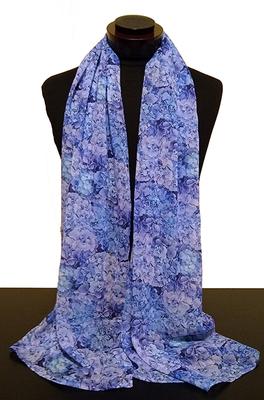 Blue Hydrangea scarf