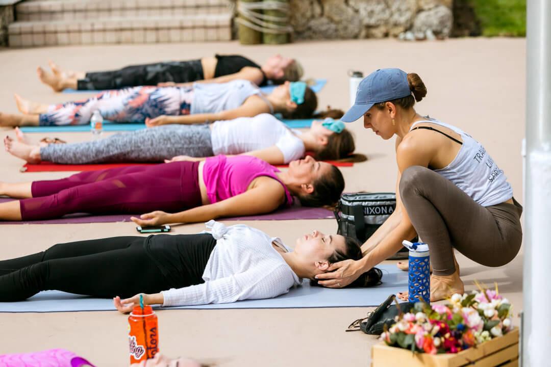 Garage Yoga Session
