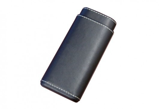 Black Cigar Case