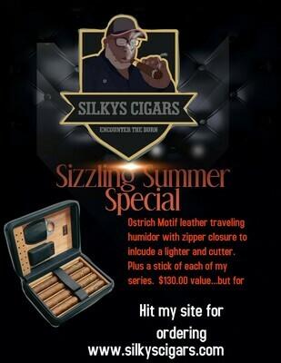 Summer Special - Traveling Humidor + 4 Sticks