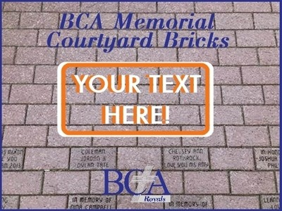 BCA Memorial Courtyard Brick